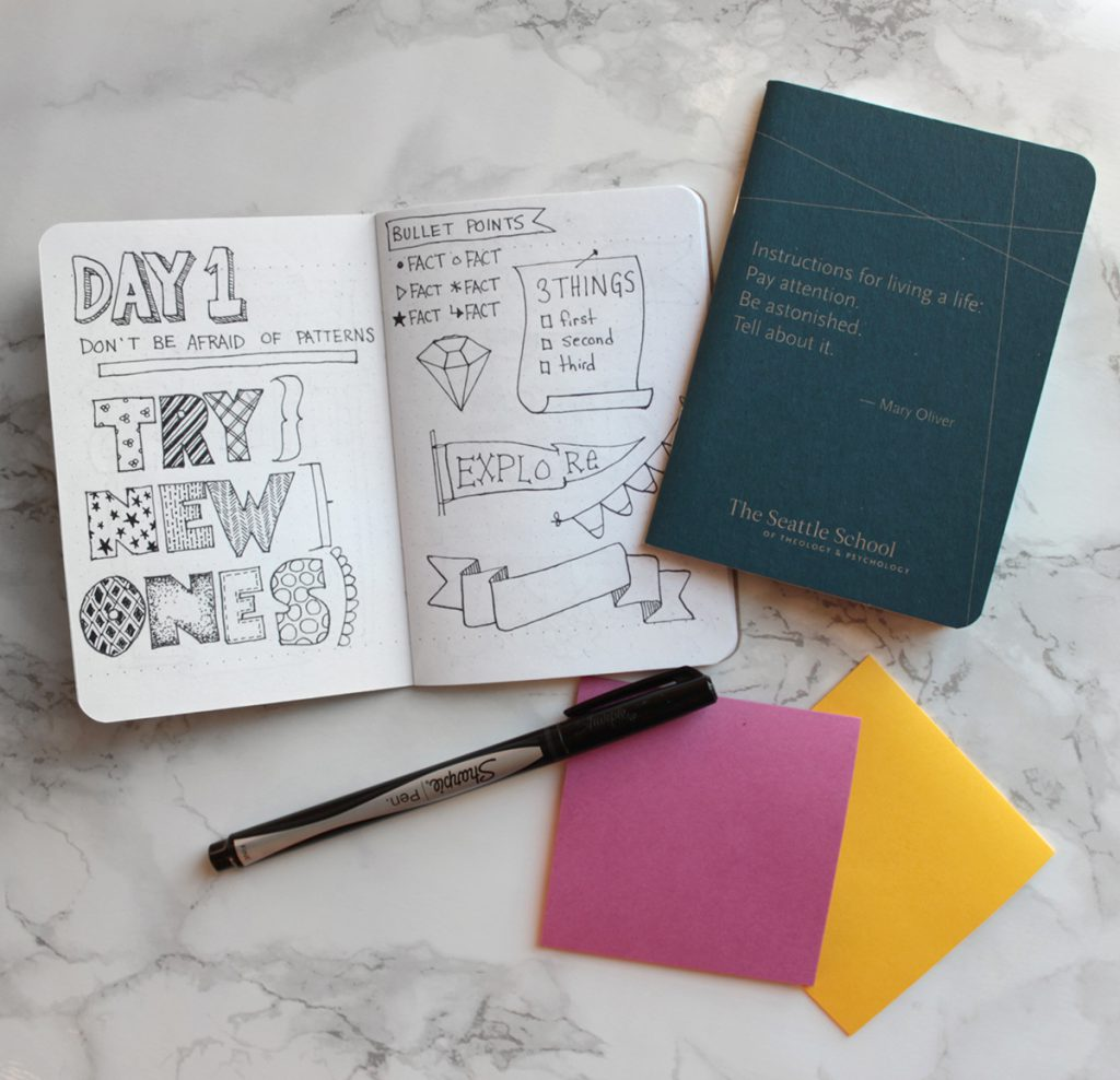 Doodle supplies - a portfolio of your own hand lettered fonts
