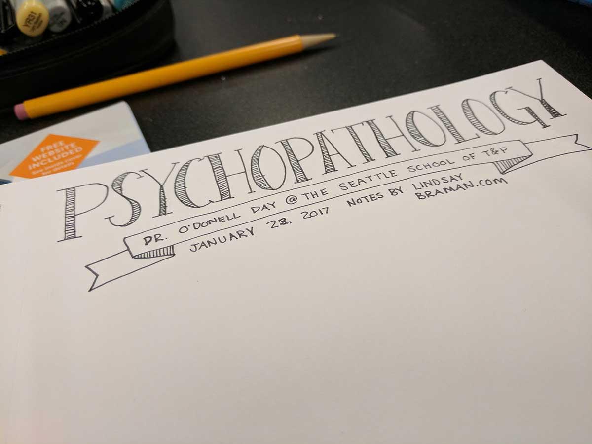 spring 2017 psychopathology ii course