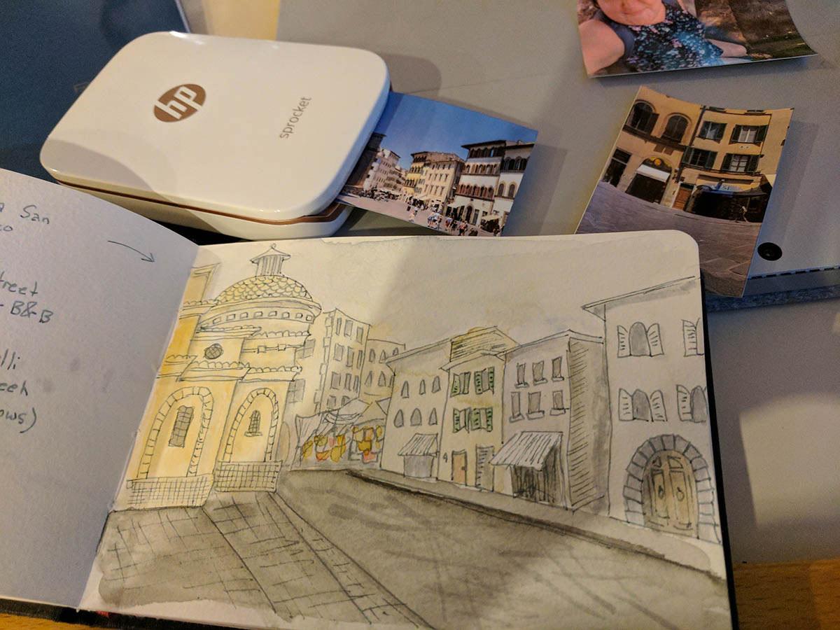 Art Travel Journal Entries
