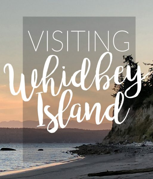 whidbey Island is my favorite artist's retreat. It's close to Seattle but worlds away.