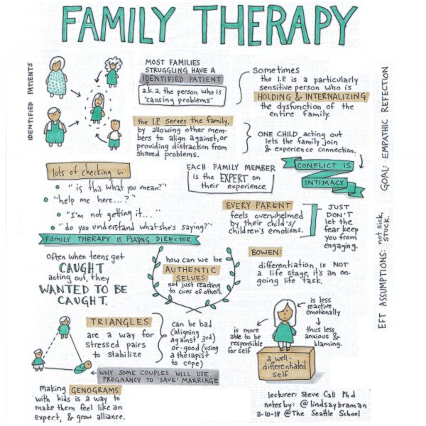 Family Systems Therapy Notes March 2018 Lindsaybraman