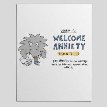 Anxiety Doesn't Have to Be the Enemy – Resources for Coping with Anxiety