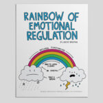 Rainbow of Emotional Regulation - A Printable PDF Social Emotional Learning Resource.