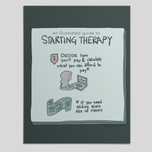 How to Get a Therapist – An Illustrated Guide