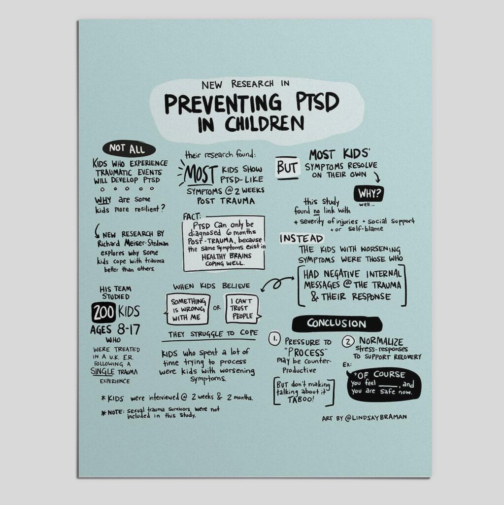 Preventing PTSD in Children
