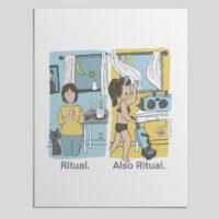 Ritual is really powerful stuff.