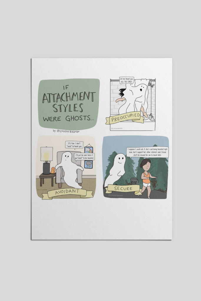 If attachment styles were ghosts.
