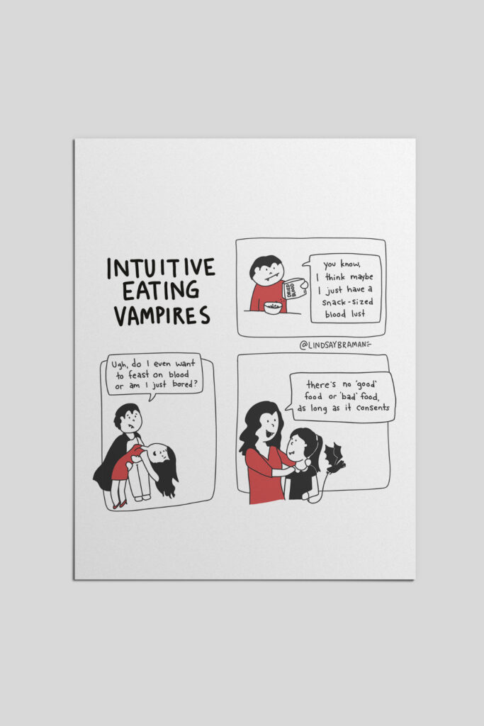 Intuitive Eating Vampires