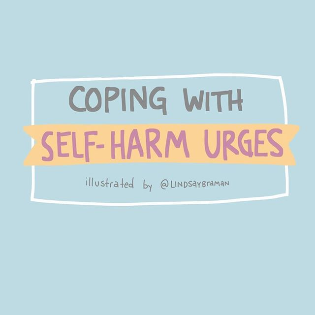 """Image titled """"Coping with Self-Harm Urges."""""""
