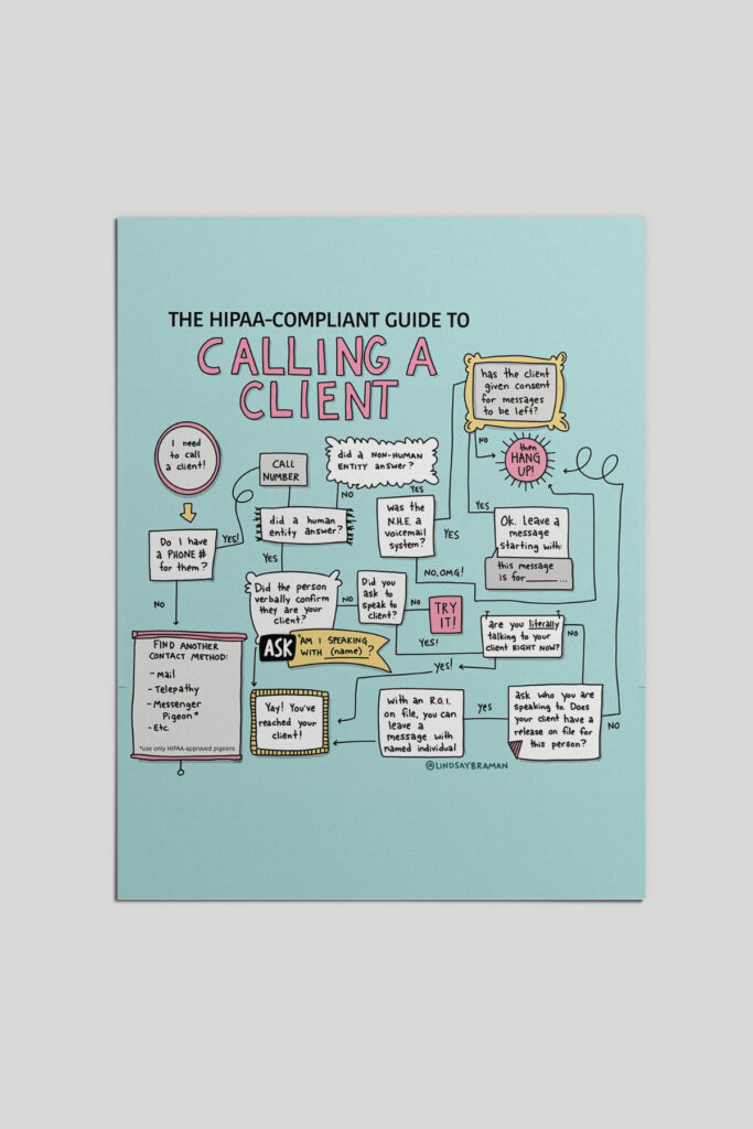HIPAA-compliant guide to calling a client