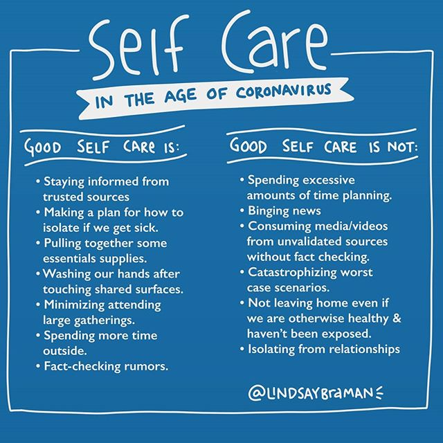 "Right now it's hard to know what is & isn't overreacting- but self care is a lens that may help bring some clarity. It's normal to be worried. It's smart to stay up to date, but how can we gauge whether our response is ""not enough"" or ""too much""? ....Self Care is the frame I'm using with myself and the people I work with. Are our media-consuming behaviors informing us or actually increasing our anxiety? Is our planning helping bring a sense of containment or heightening our need to hoard? Are we avoiding high risk gatherings (that's you #emeraldcitycomicon ) or could our fear keep us from the human contact we need in order to cope with stress? ....Be kind to yourself by pausing to ask if your response is one of self care. If it's not, small modifications can help: choose trusted news sources over Facebook or YouTube, fact check rumors, give yourself some containment by setting reminders on your phone (for intervals, or arrival at GPS locations, etc) to wash your hands so you don't have to use as much energy thinking about it, or set a timer to allocate a certain amount of time in a day dedicated to putting pen to paper and creating a plan (physically writing and then putting the paper away can be a helpful way to handle intrusive thoughts for some people). . . It's ok to need more support right now, learn more about getting support for dealing with #healthanxiety via the link in my profile. .... #publichealth #anxiety #flu #selfcare #selfcarematters - from Instagram"