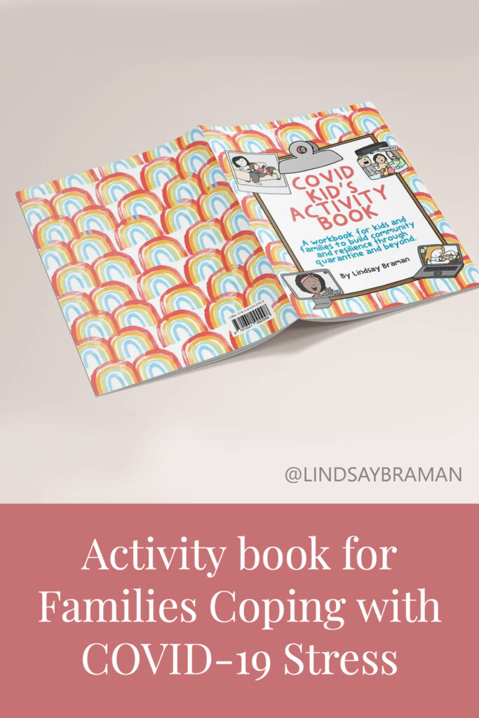 COVID activity book for kids