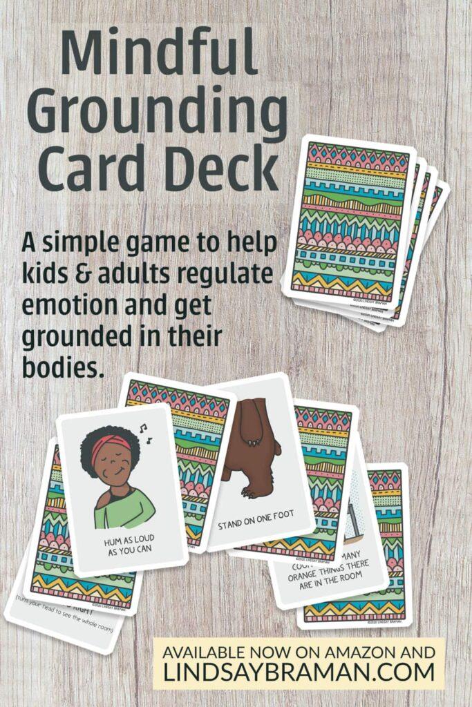 mindfulness grounding cards - trauma-sensitive