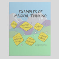 Therapist resources for discussing and teaching about Magical Thinking