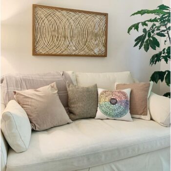 Buy from the Artist: Emotion Sensation Wheel Pillow for Home or Therapy Office