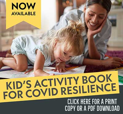 information about a resource designed to help kids cope with the experience of living during a pandemic