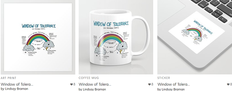 window of tolerance poster