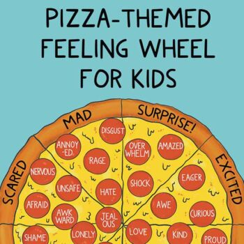 Free Printable Emotion Wheel For Kids | PDF Feelings Wheel Download