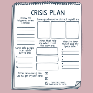 Creating a Crisis Plan: A Free Printable Worksheet for Safety Planning