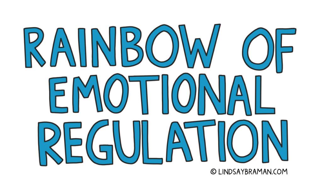 A social emotional learning illustration about emotional regulation