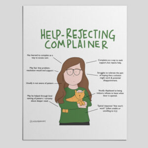 PDF Mini Poster: A Compassionate Anatomy of a Help Rejecting Complainer