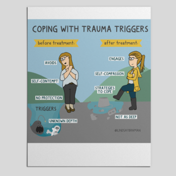 How Good Therapy Works to Reduce Trauma Triggers