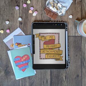 Psychology Themed Valentines – Digital Download Printables