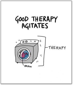 Good Therapy Agitates – Visual