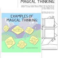 Magical Thinking Art + Worksheet