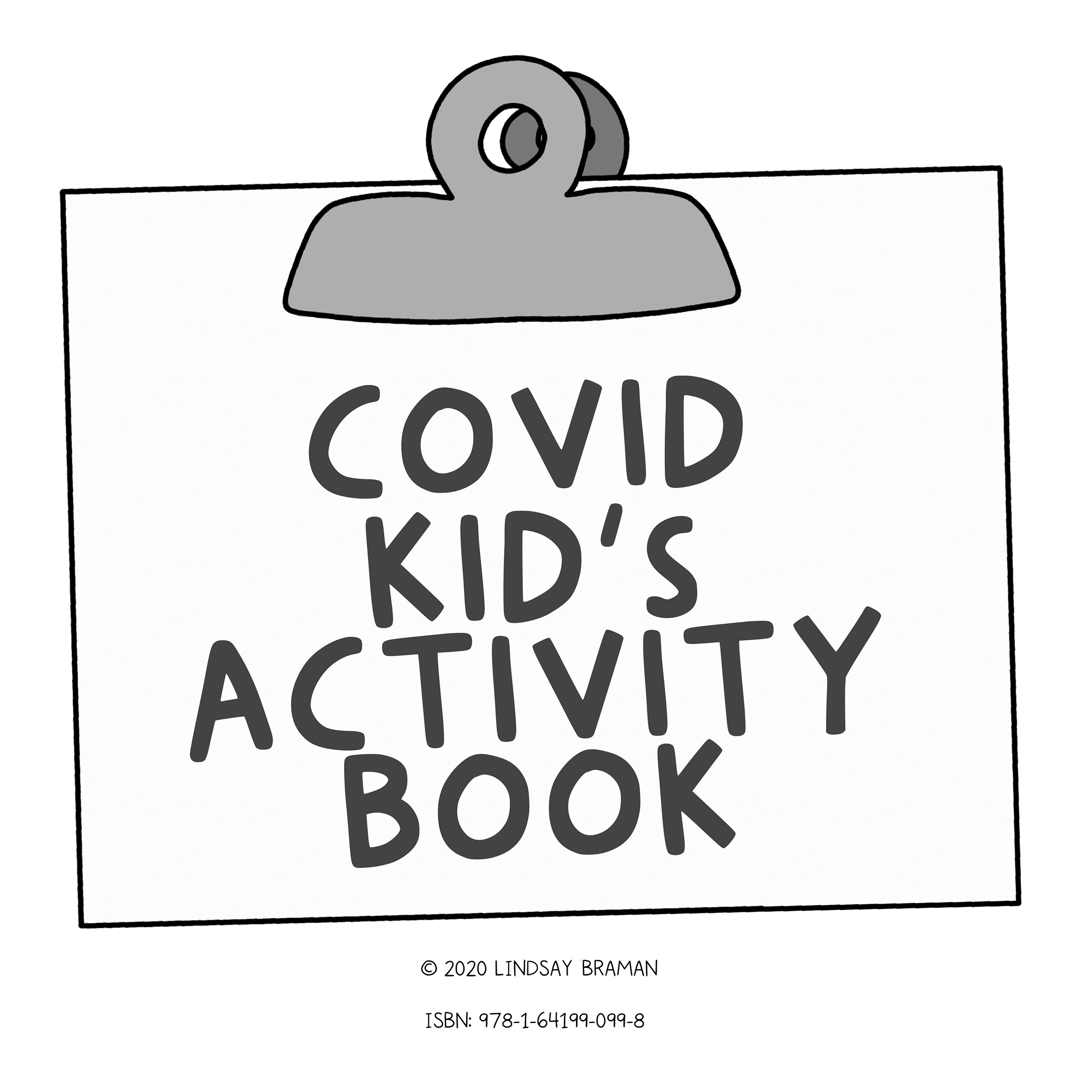 Thumbnails from a therapist-designed activity book created to help kids process COVID-19 and thrive beyond quarantine