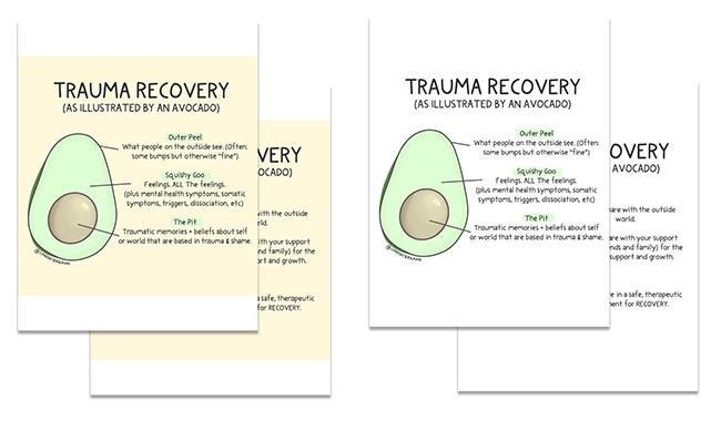 lindsay braman trauma avocado teaching model
