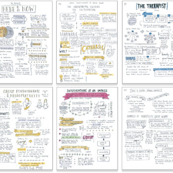 "Irvin Yalom: Group Therapy Sketchnotes & an Open Letter on ""Love's Executioner"""